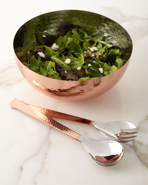 C'est Copper Serving Bowl and Servers - Entertaining Serving Gifts