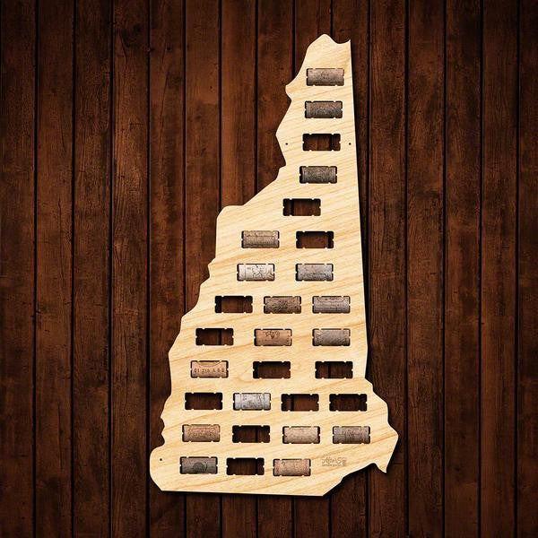 New Hampshire Wine Cork Sign - Premier Home & Gifts
