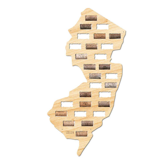 New Jersey Wine Cork Sign - Premier Home & Gifts