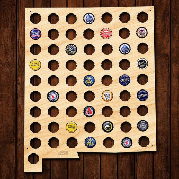 New Mexico Beer Cap Sign - Premier Home & Gifts
