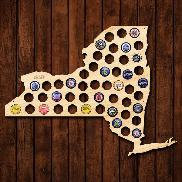 New York Beer Cap Sign - Premier Home & Gifts