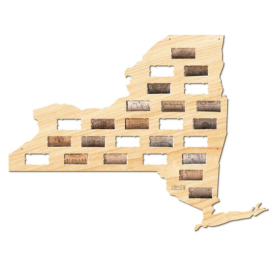 New York Wine Cork Sign - Premier Home & Gifts