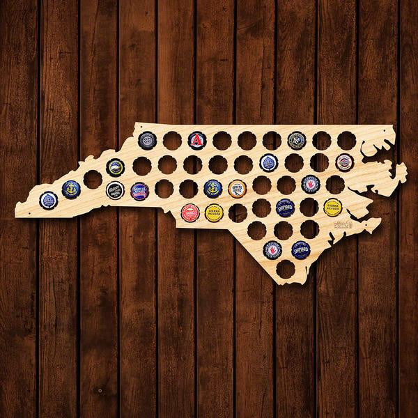 North Carolina Beer Cap Sign - Premier Home & Gifts