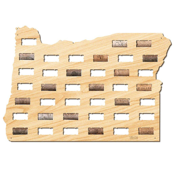Oregon Wine Cork Sign - Premier Home & Gifts