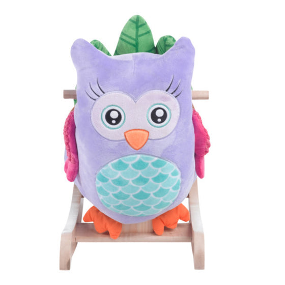Owl Rocker - Purple | Premier Home & Gifts