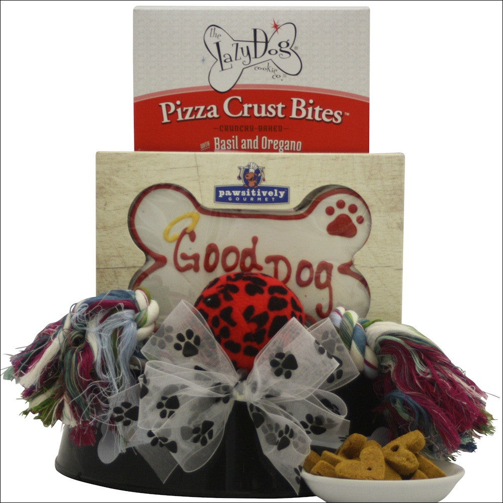 Happy Tails Pet Gift Basket - Premier Home & Gifts