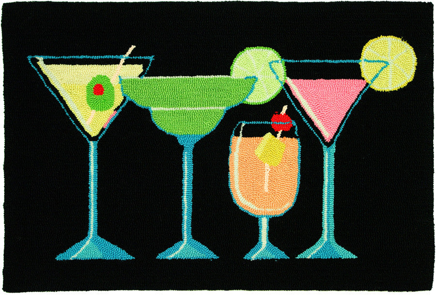 Happy Hour Accent Rug by Vicky Howard ©