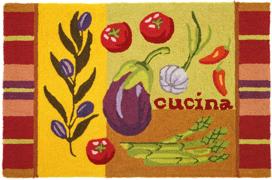 Cucina Accent Rug by Jennifer Brinley©