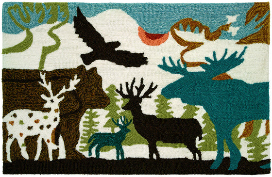 Forest Dwellers Accent Rug