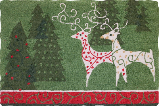 Christmas Gathering Accent Rug