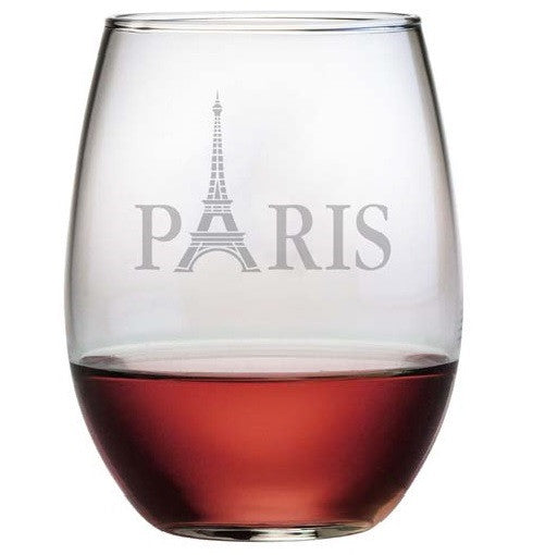 Paris Stemless Wine Glasses
