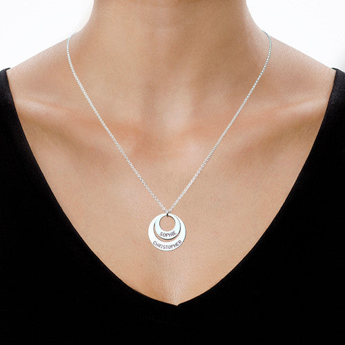 Just For You - Two Disc Necklace