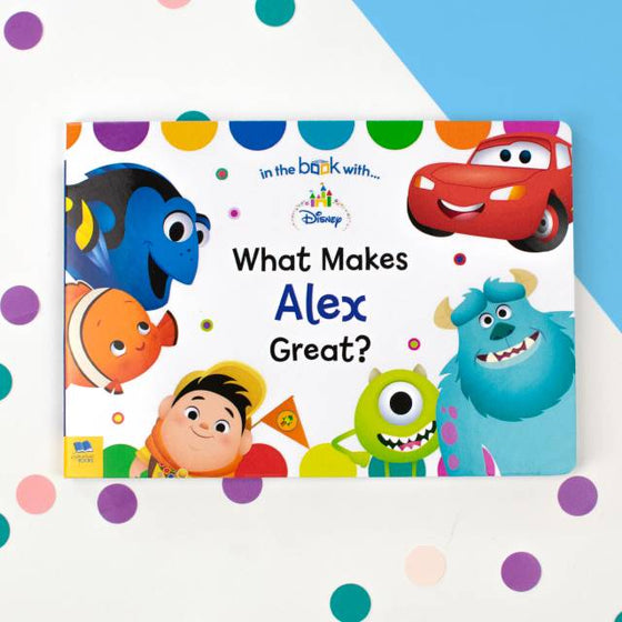 Disney What Makes Me Great Board Book Personalized Childrens Books