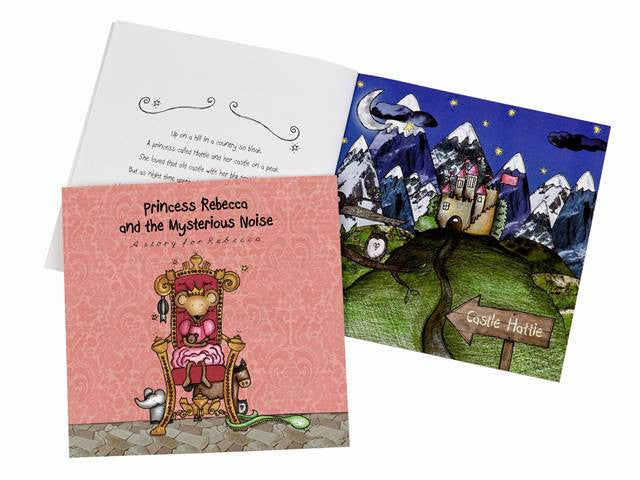Princess and the Myserious Noise Book - Personalized