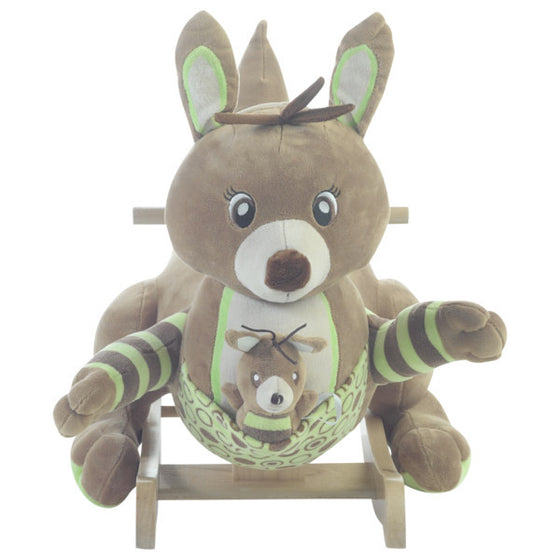 Kanga and Roo Kangaroo Toy Rocker - Premier Home & Gifts