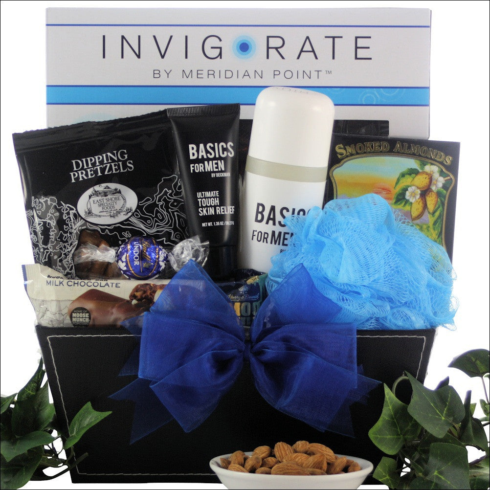 Just For Men Spa Gift Basket - Premier Home & Gifts