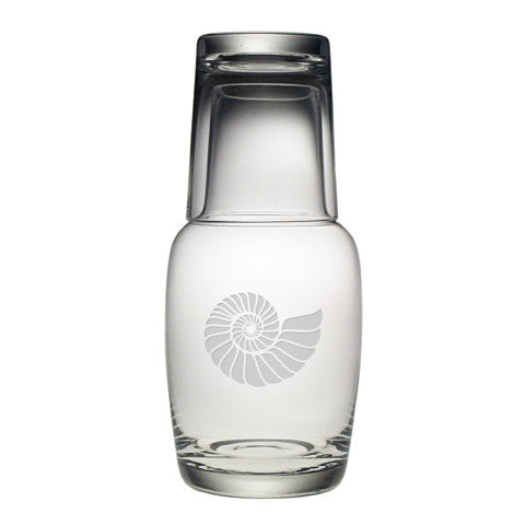 Nautilus Shell Bottle Carafe Set