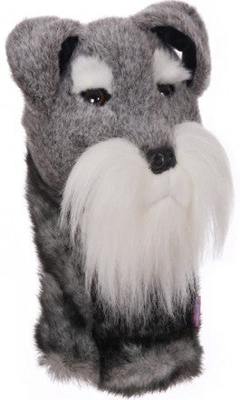 Schnauzer Golf Head Cover