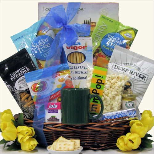 Sugar Free Gourmet Gift Basket - Premier Home & Gifts