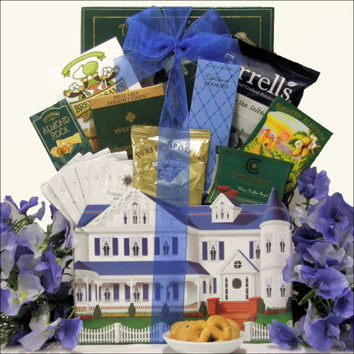Settling In Housewarming Gift Basket - Premier Home & Gifts