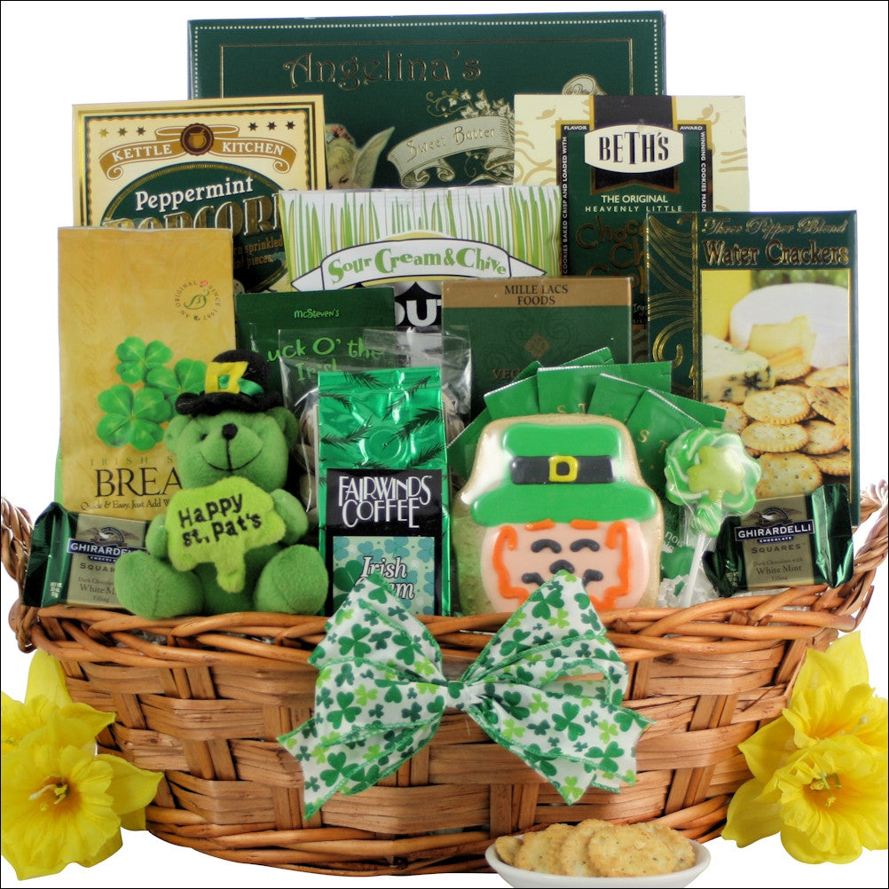 Luck of the Irish Gourmet Gift Basket