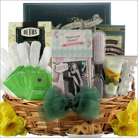 Hands & Feet Specialty Spa Gift Basket - Premier Home & Gifts