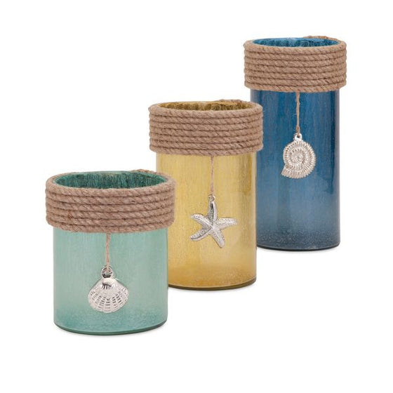 Coastal Hurricanes - Set of 3 | Premier Home & Gifts