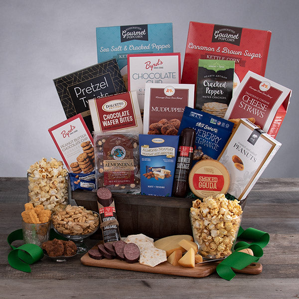Armchair Gourmet Snacks & Gift Basket