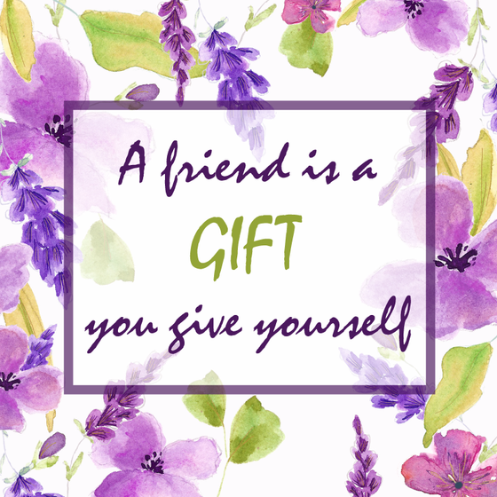 A Friend is a Gift Personalized Candle - Friendship Gifts for Girlfriends