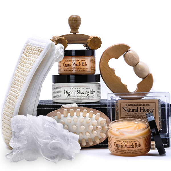 B. Witching Spa Gift Basket for Him - Gift Baskets for Men