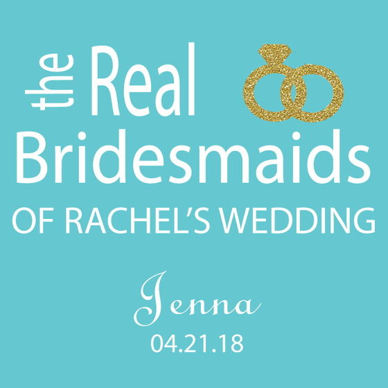 The Real Bridesmaids Personalized Candles - Premier Home & Gifts