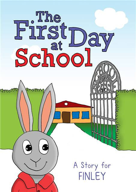 First Day of School Book - Personalized
