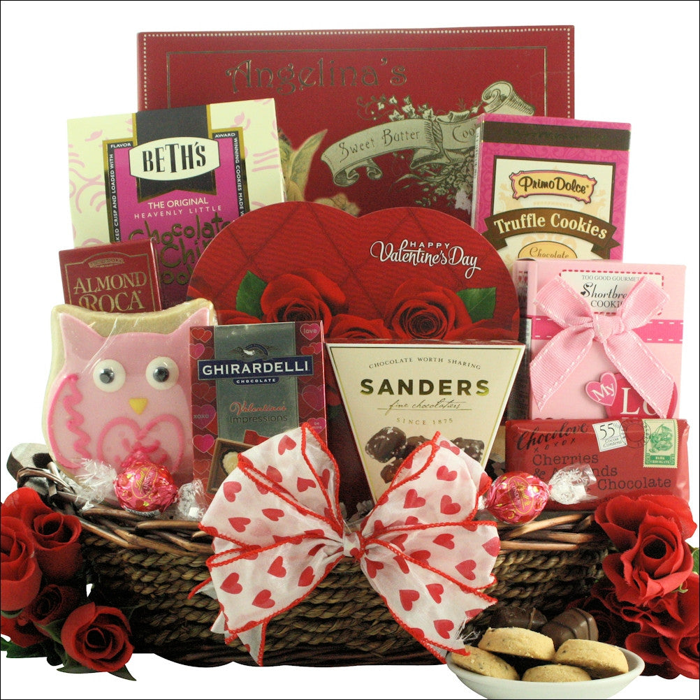Valentine S Day Chocolate Sweets Gift Basket