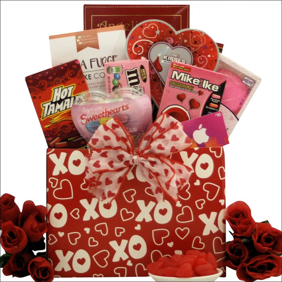 iValentine's Day Gift Basket for Tweens/Teens - Valentine's Day Gift Baskets for Kids