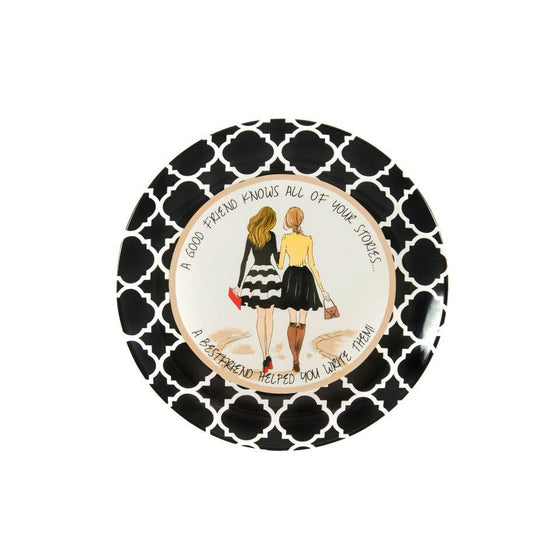 Best Friend Commemorative Plate - Premier Home & Gifts