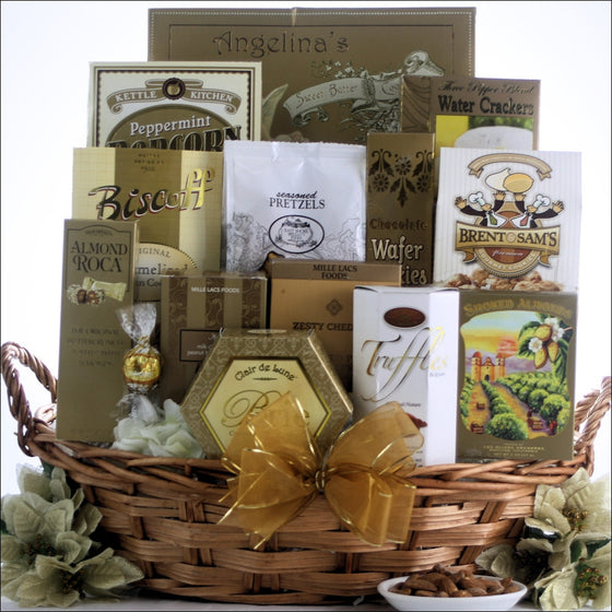 Simply Chic Gourmet Gift Basket - Premier Home & Gifts