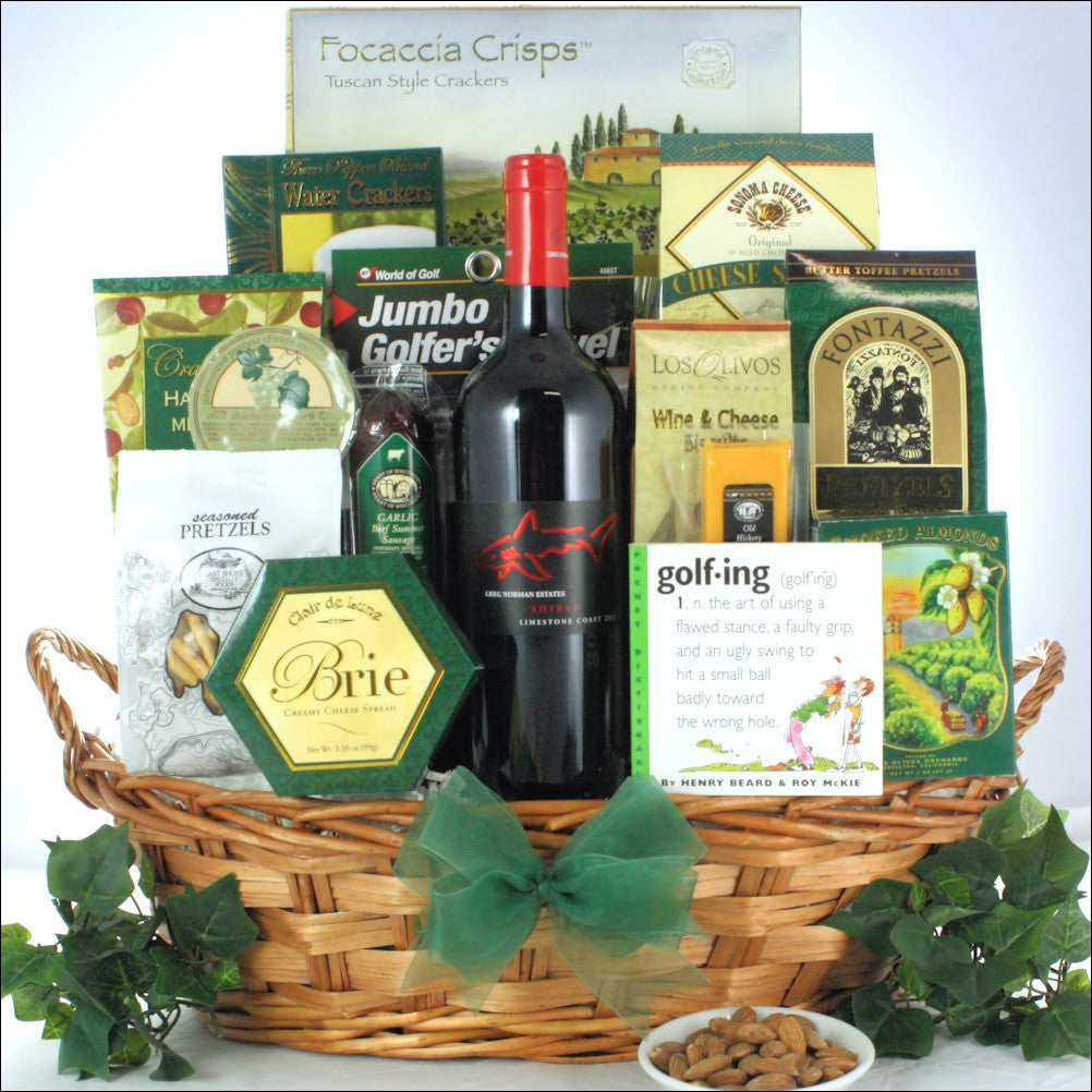 Greg Norman Estates Shiraz Wine Gift Basket - Premier Home & Gifts