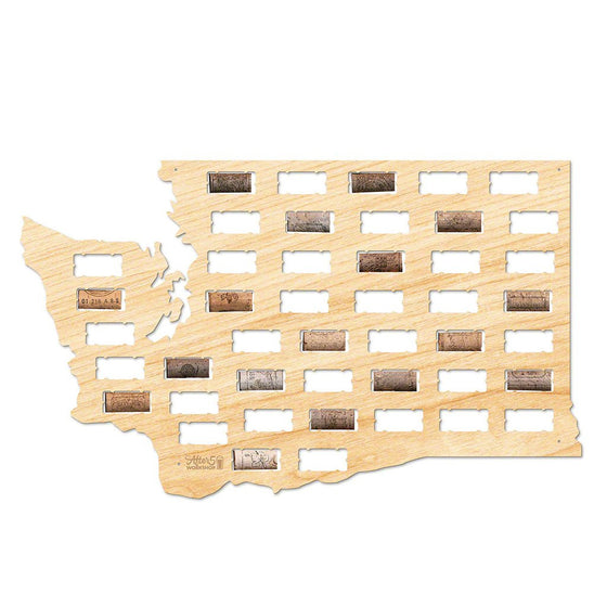 Washington Wine Cork Sign - Premier Home & Gifts