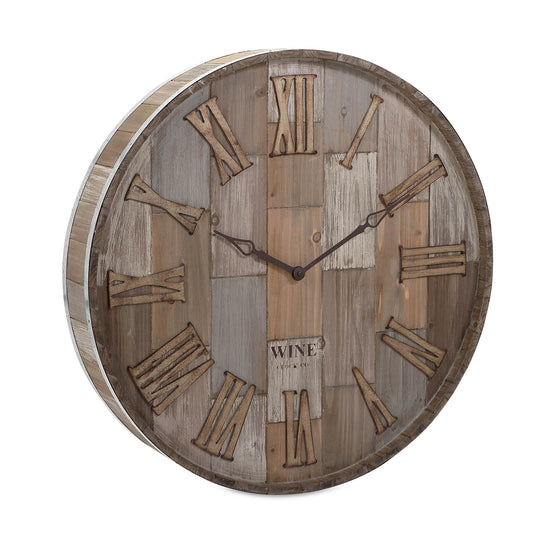 Wine Clock Co. Wall Clock - Premier Home & Gifts