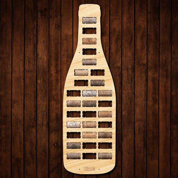 Wine Bottle Wine Cork Sign - Premier Home & Gifts