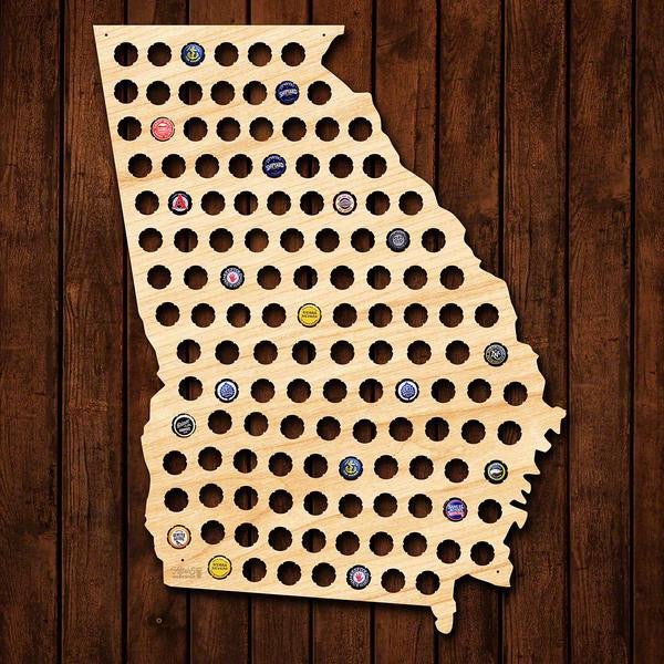 Georgia Beer Cap Sign - Premier Home & Gifts