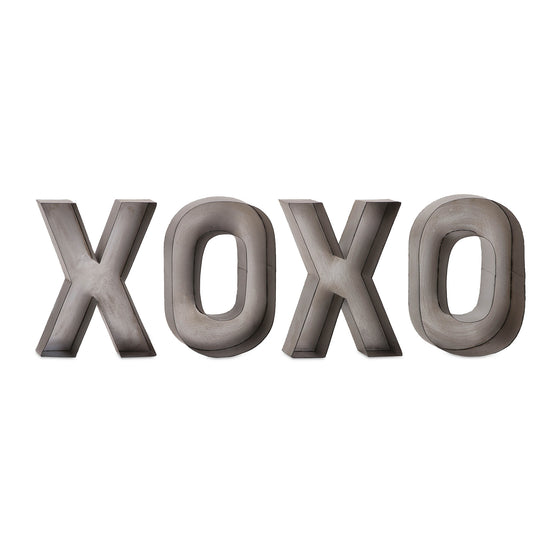 XOXO Metal Wall Decor