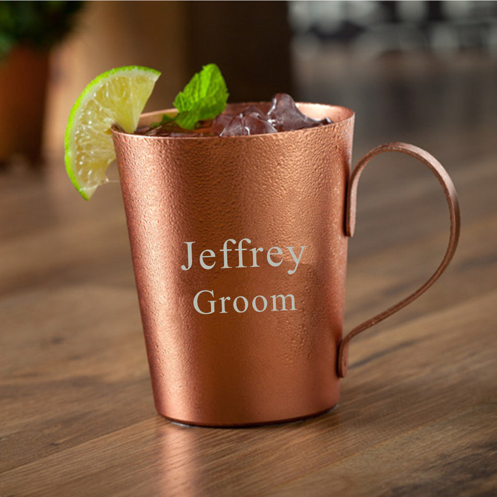 Moscow Mule Copper Mug ~ Laser Engraved