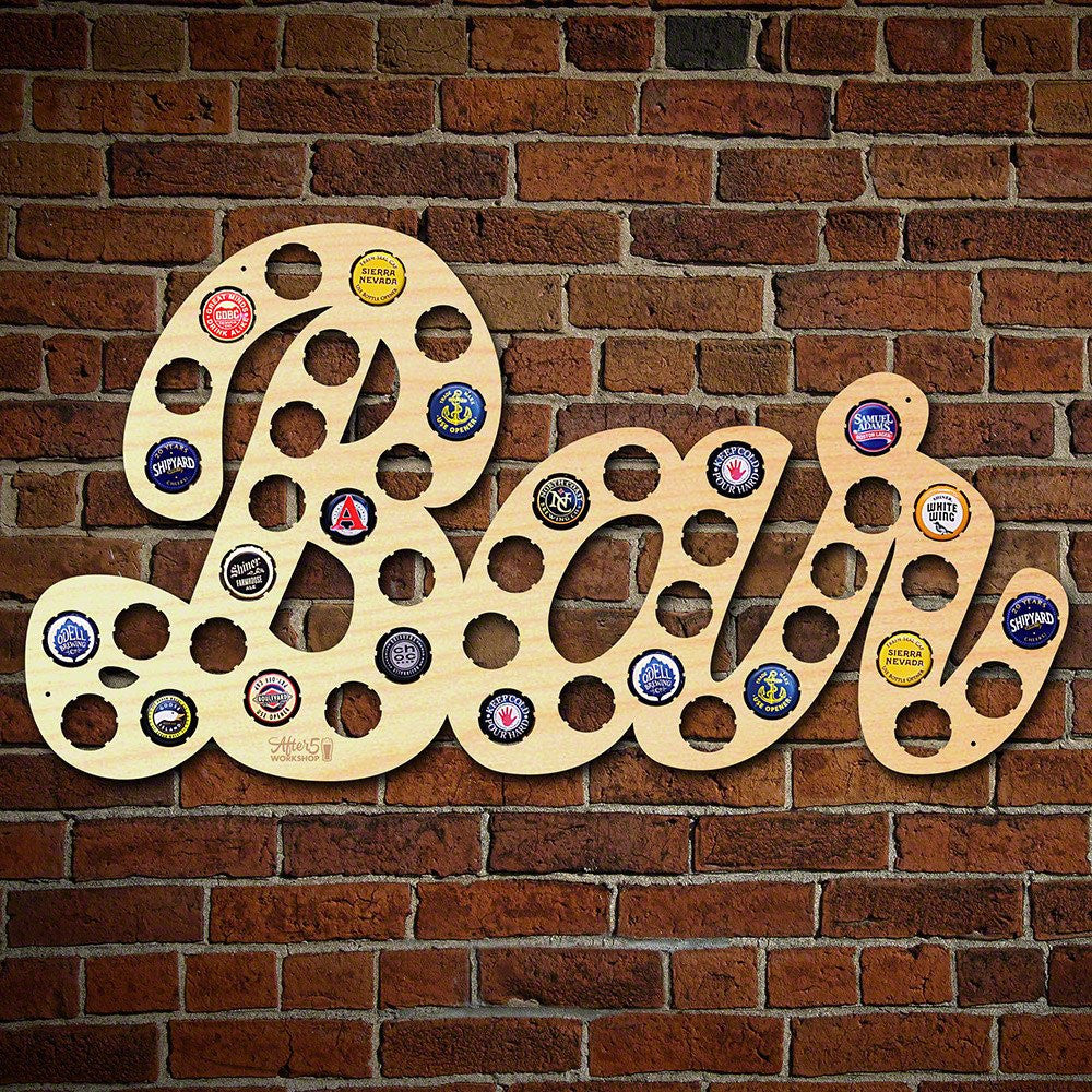 Bar Beer Cap Sign - Premier Home & Gifts