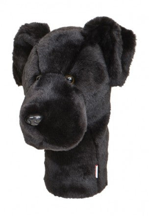 Black Lab Golf Head Cover