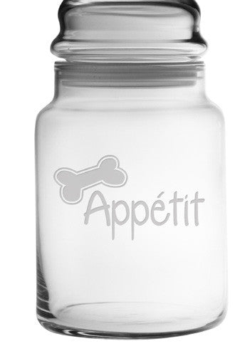 Bone Appétit Treat Jar