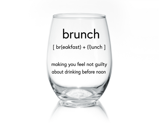 Brunch Stemless Glass