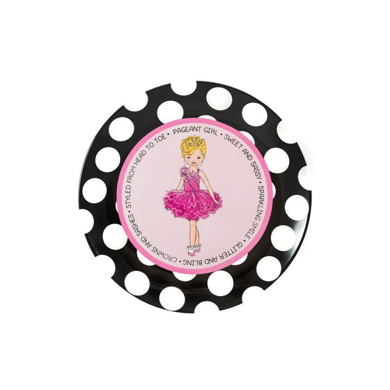 Pageant Princess - Blonde - Commemorative Plate | Premier Home & Gifts