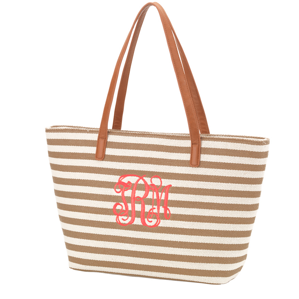 Chesapeake Bay Tote Bag - Khaki