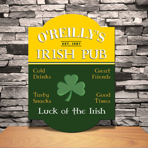 Irish Pub Sign ~ Personalized | Premier Home & Gifts